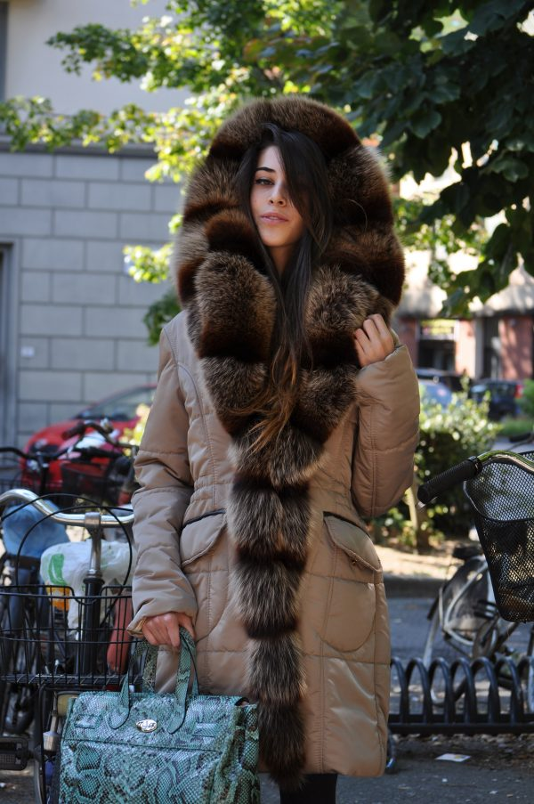 pelliccia donna